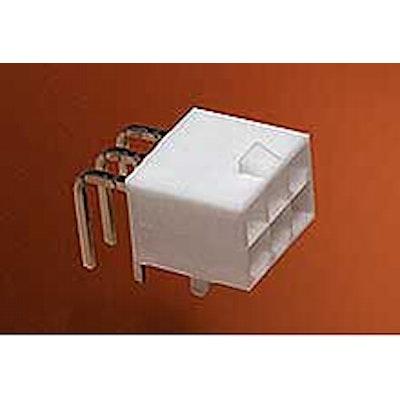 Header 2 Row 90° PCB Lock 12p 94V-2 Tin Plating